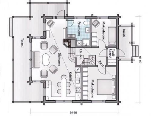 Проект дачного дома.